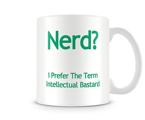 Nerd-Printed-Becher