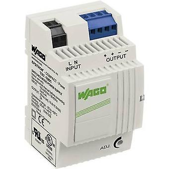 WAGO EPSITRON® COMPACT POWER 787-1001 Rail mounted PSU (DIN) 12 Vdc 2 A 24 W 2 x