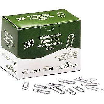 Durable Paper clip 1207 26 mm 1000 pc(s)