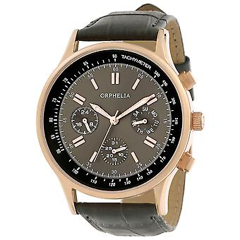ORPHELIA Mens Analogue Watch Champions League Grey Leather OR81507