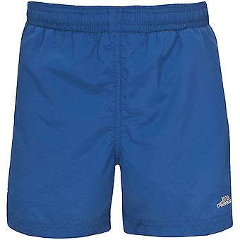 Trespass Childrens Boys Trey Plain Lined Swim Shorts