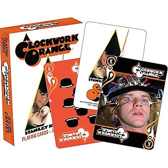 A Clockwork Orange Set Of 52 Playing Cards (+ Jokers)