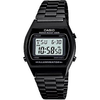 Casio B640WB-1AEF Classic Digital Watches with Stainless Steel Band - Black