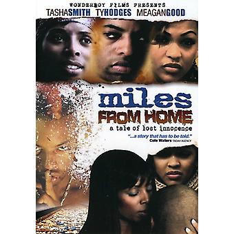 Miles From Home [DVD] USA import