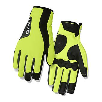 Giro Highlight Yellow-Black 2017 Ambient 2.0 Cycling Gloves