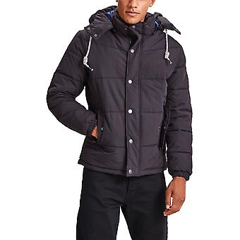 Jack & Jones New Figure Hooded Puffer Jacket