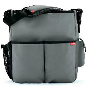 Skip Hop Duo Deluxe Baby Changing Bag Grey