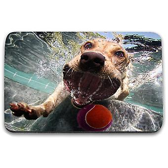 i-Tronixs - Underwater Dog Printed Design Non-Slip Rectangular Mouse Mat for Office / Home / Gaming - 9