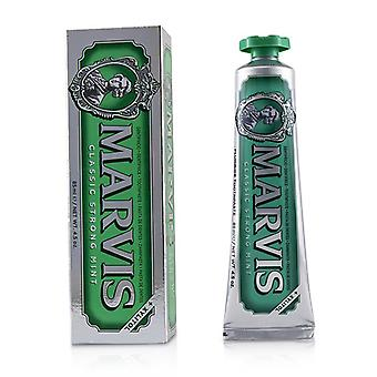 Marvis clásico menta fuerte crema dental con xilitol - 85ml/4,5 oz