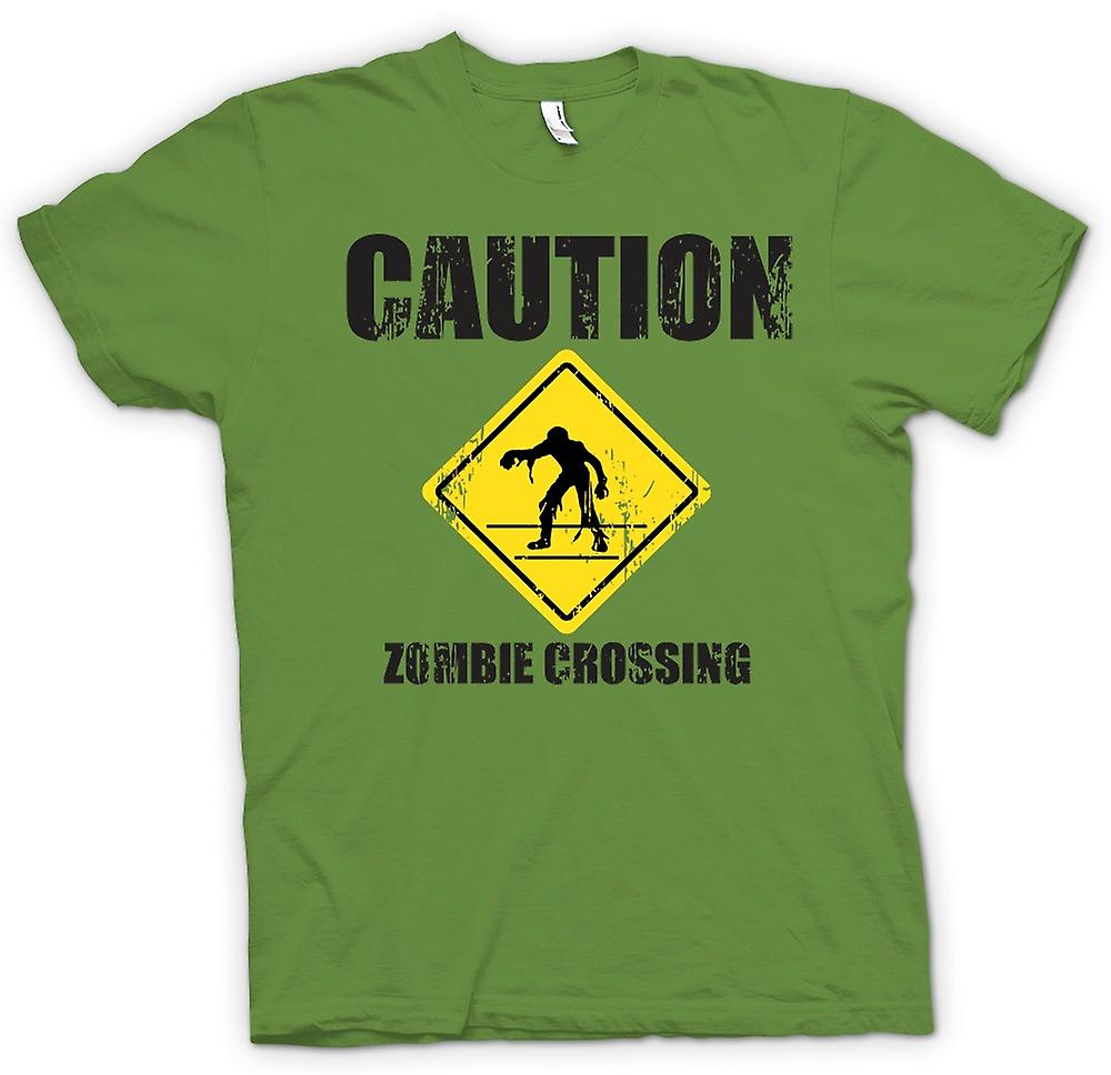Mens t-shirt-orrore - divertenti - incrocio di Zombie