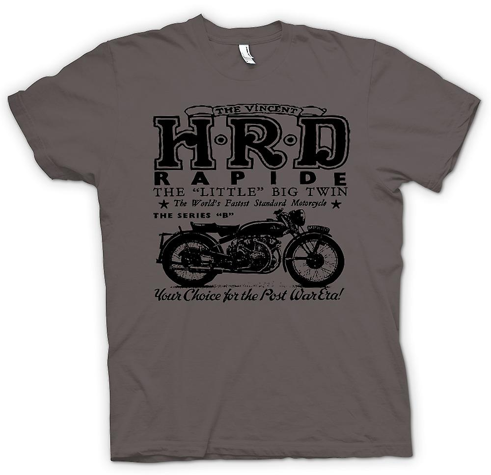 Womens T-shirt - Vincent Hrd Rapide - Classic Bike