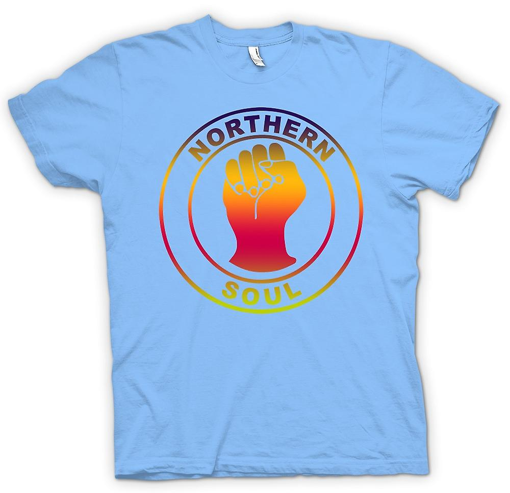 Mens T-shirt - Northern Soul - Fist-