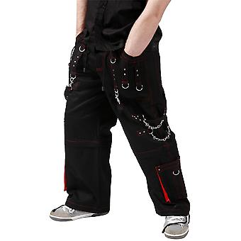 Dead Threads Black & Red Brock Trousers M