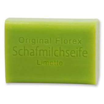Florex ovelhas leite sabão-Limette-a pele mantém sauna refrescado no verão 100g