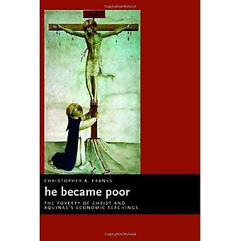 He Became Poor: The Poverty of Christ and Aquinas's Economic Teachings (Ekklesia)