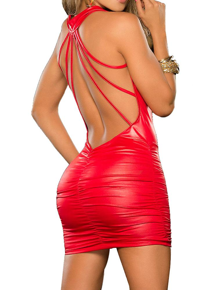 Waooh - Short dress backless Hers