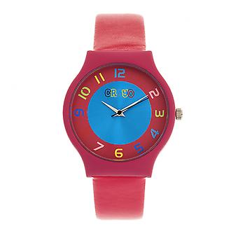 Crayo Jubilee Unisex Watch - Hot Pink