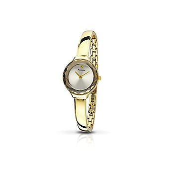 Accurist ladies analogue watch with metal plated stainless steel LB 1478.01