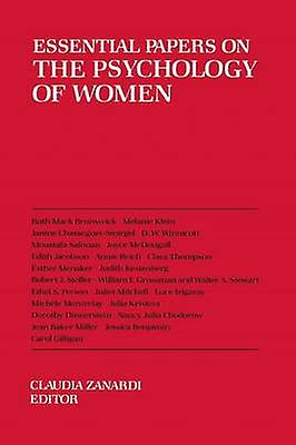 Essential Papers on the Psychology of femmes by Zanardi & Claudia