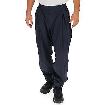 Issey Miyake blå bomuld bukser