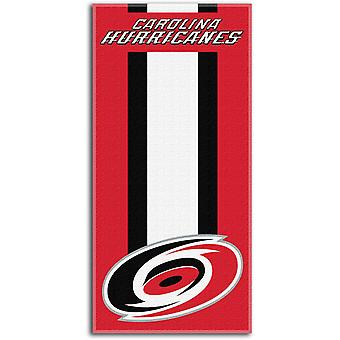 Northwest NHL Strandtuch ZONE Carolina Hurricanes 76x152cm