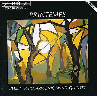 Berlin Philharmonic Wind Quint - Printemps [CD] USA importeren