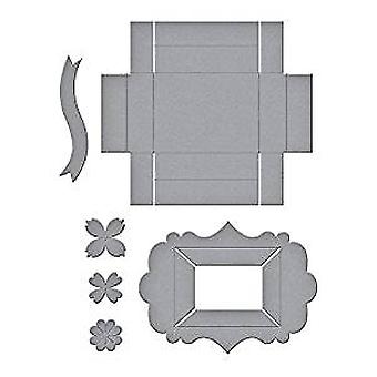 Spellbinders Designer Series Tiny Shadow Box Dies (S5-339)