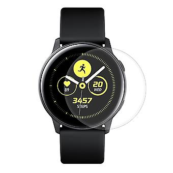 Samsung Galaxy Watch Active Panzer Schutz Display Glas Panzerfolie 9H Echtglas - 3 Stück