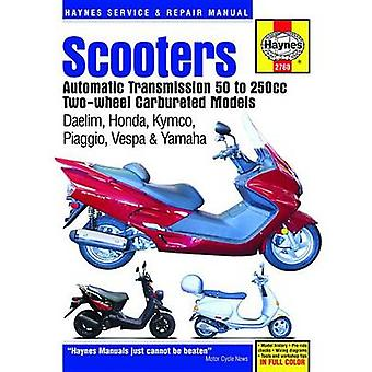 Scooters Service and Repair Manual - Automatic Transmission - 50 to 25