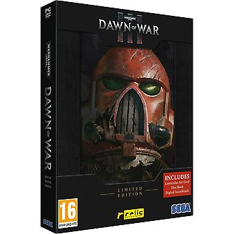 Warhammer 40.000 Dawn of War III Limited Edition PC DVD Game (Non-English Box)