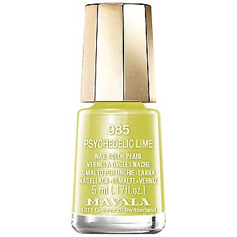 Mavala Dash & Splash 2019 Nail Polish Collection - Psychedelic Lime (985) 5ml