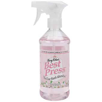 Mary Ellen's Best Press Clear Starch Alternative 16 Ounces Cherry Blossom 600Bp 60