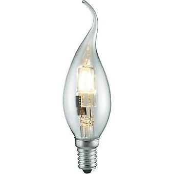 Eco halogen 125 mm Sygonix 230 V E14 28 W Warm white EEC: C Candle shape dimmable 1 pc(s)