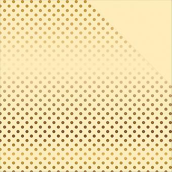 Echo Park Double-Sided Foiled Dot & Stripe Cardstock 12