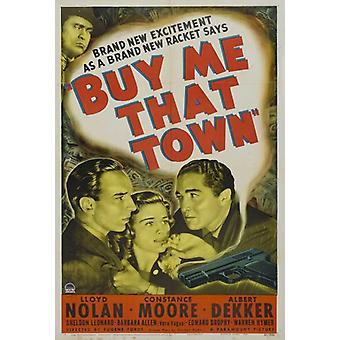 Купить мне что город фильм плакат печать (27 x 40)