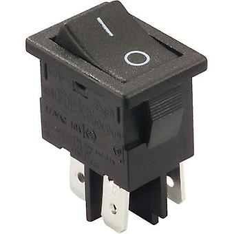 Toggle switch 250 Vac 10 A 2 x Off/On Arcolectric H8550VBACA latch 1 pc(s)