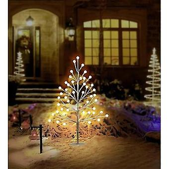 LED christmas tree 60 cm incl. timer Warm white, Neutral white Polarlite White