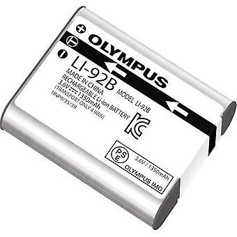 Camera battery Olympus replaces original battery LI-92B 3.6 V 1350 mAh