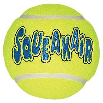 Kong Air Squeaker Tennis ballen Lge