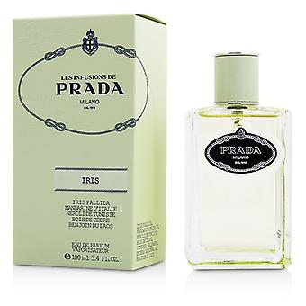Prada Les Infusions DIris Eau De Parfum Spray 100ml/3.4oz