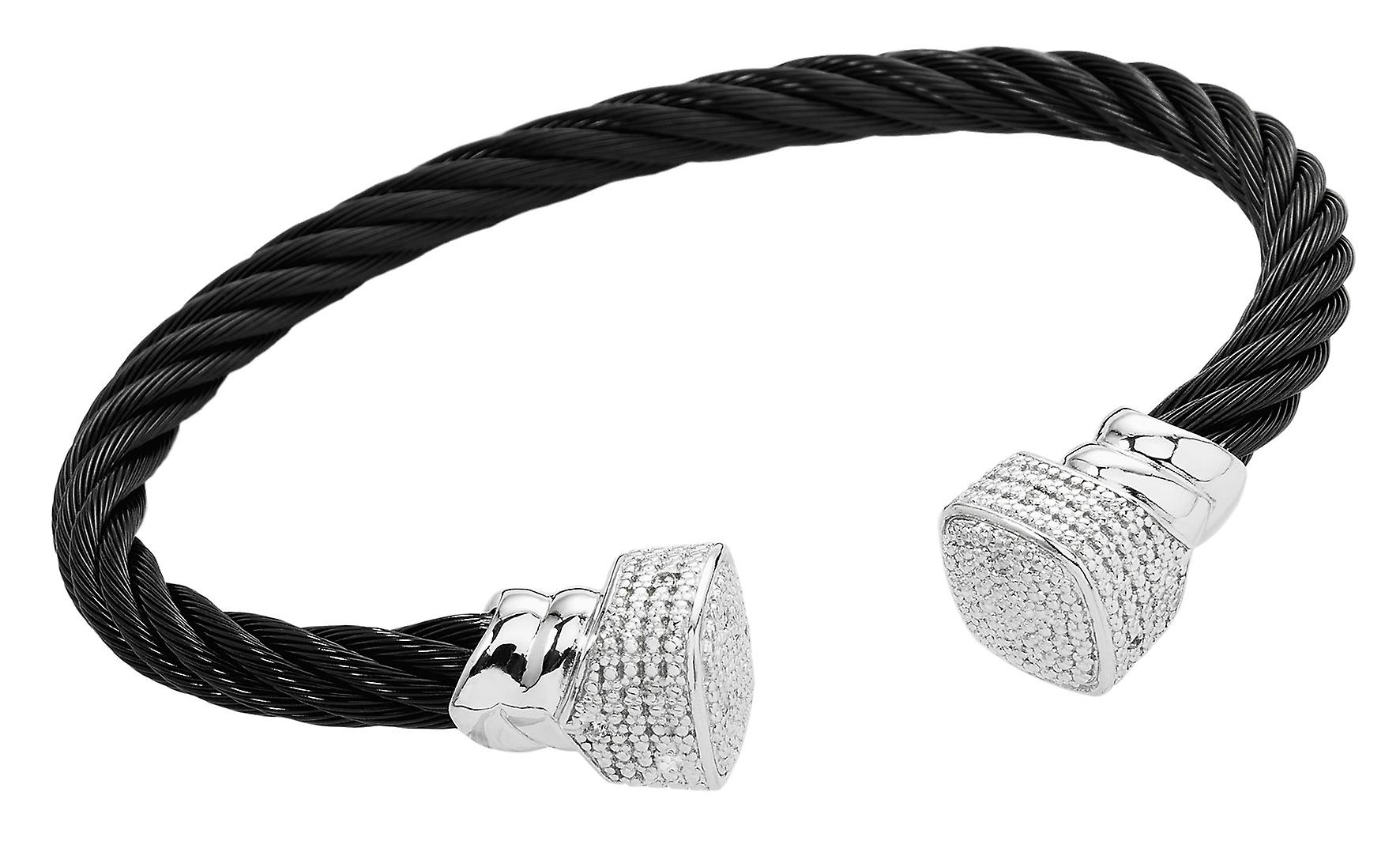 Burgmeister Bangle with Cubic Zirconia JBM3020-521