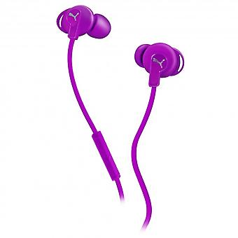 PUMA Headphone Bulldog Purple In-Ear Mic
