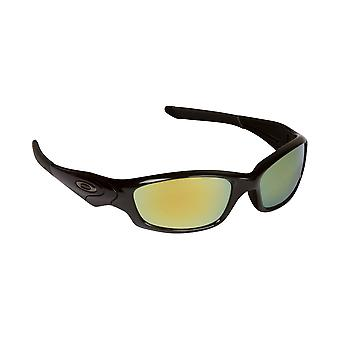 SEEK Polarized Replacement Lenses for Oakley STRAIGHT JACKET Grey Green Mirror