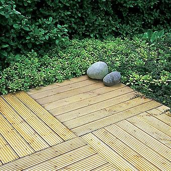 Forest Garden Deck Tile 60 x 60cm - Pack of 4