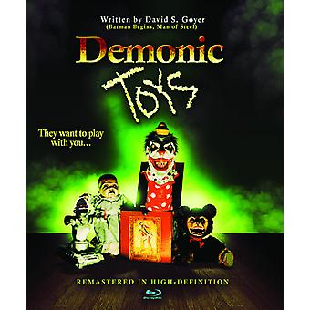 Dæmoniske legetøj [Blu-ray] USA importerer
