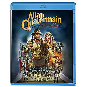 Allan Quatermain & the Lost City of Gold [Blu-ray] USA import