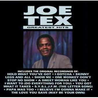 Joe Tex - importación de Estados Unidos Greatest Hits [CD]