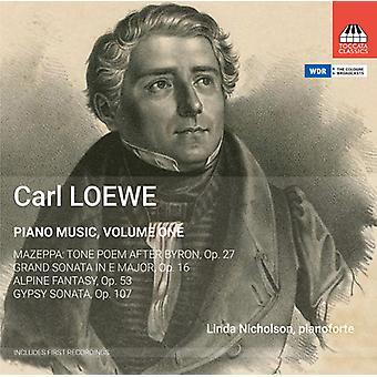 Loewe / Nicholson, Linda - klaver musik 1 [CD] USA import