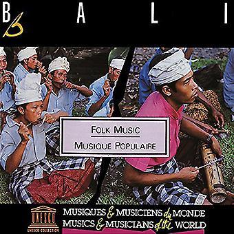 Forskellige kunstner - Bali: folkemusik [CD] USA import