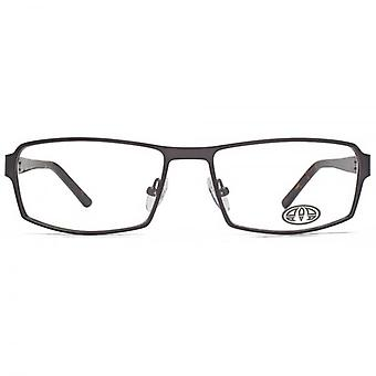 Animal Keats Combination Rectangle Glasses In Gunmetal & Tortoiseshell